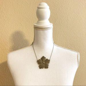 Jewelry - Flower Medallion Necklace